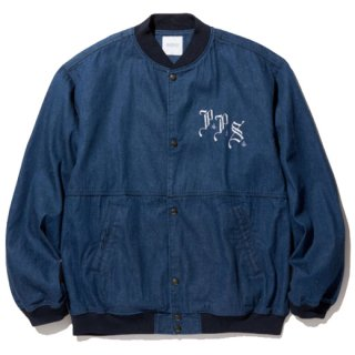 RADIALL  POLY HIGH - SOUVENIR JACKET INDIGO