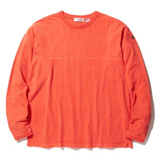 RADIALL EL CAMINO - CREW NECK T-SHIRT L/S  ORANGE