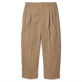 RADIALL RUM - WIDE FIT TROUSERS BEIGE