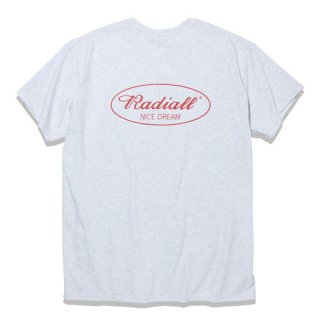 RADIALL OVAL C.N. T-SHIRTS  ASH GRY