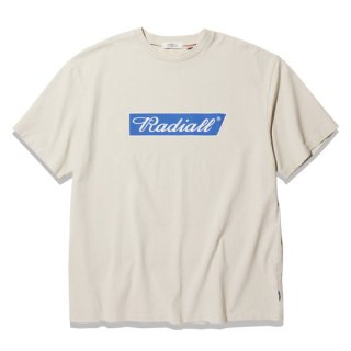 RADIALL   FLAGS  C.N. T-SHIRTS  SNOW WHT