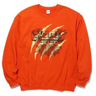RADIALL  REMAINS - CREW NECK SWEATSHIRT L/S ORG