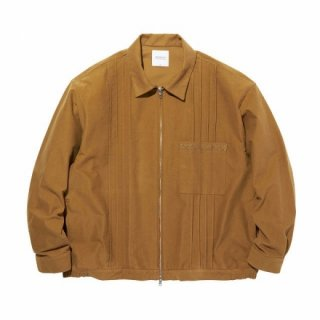 RADIALL MUSCLE SHOALS - ZIP UP BLOUSON CAMEL