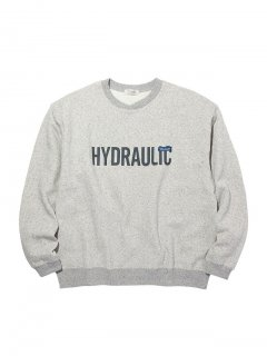 <img class='new_mark_img1' src='//img.shop-pro.jp/img/new/icons14.gif' style='border:none;display:inline;margin:0px;padding:0px;width:auto;' />RADIALL HYDRAULIC - CREW NECK SWEATSHIRT L/S GRY