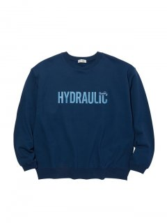 <img class='new_mark_img1' src='//img.shop-pro.jp/img/new/icons14.gif' style='border:none;display:inline;margin:0px;padding:0px;width:auto;' />RADIALL HYDRAULIC - CREW NECK SWEATSHIRT L/S NVY