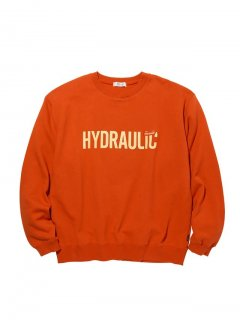 <img class='new_mark_img1' src='//img.shop-pro.jp/img/new/icons14.gif' style='border:none;display:inline;margin:0px;padding:0px;width:auto;' />RADIALL HYDRAULIC - CREW NECK SWEATSHIRT L/S ORG