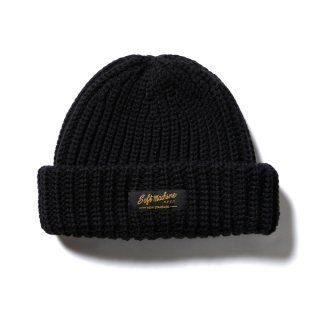 <img class='new_mark_img1' src='//img.shop-pro.jp/img/new/icons14.gif' style='border:none;display:inline;margin:0px;padding:0px;width:auto;' />SOFTMACHINE DAILY KNIT CAP BLK