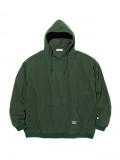 RADIALL SYNDICATE - PULLOVER HOODED SHIRT L/S GRN