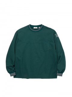<img class='new_mark_img1' src='//img.shop-pro.jp/img/new/icons14.gif' style='border:none;display:inline;margin:0px;padding:0px;width:auto;' />RADIALL SYNDICATE - CREW NECK POCKET T-SHIRT L/S GRN