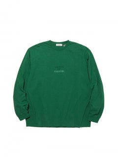 RADIALL SOP - CREW NECK T-SHIRT L/S GRN