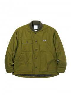 RADIALL  OAK TOWN - WORK JACKET    OLV