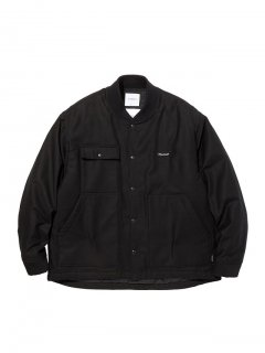 RADIALL  OAK TOWN - WORK JACKET    BLK
