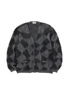 RADIALL MOONGLOW - CARDIGAN SWEATER L/S  YEL
