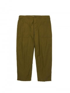 RADIALL  OAK TOWN - WIDE FIT WORK PANTS  OLV