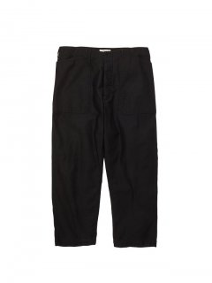 RADIALL  OAK TOWN - WIDE FIT WORK PANTS  BLK