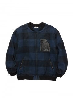 <img class='new_mark_img1' src='https://img.shop-pro.jp/img/new/icons14.gif' style='border:none;display:inline;margin:0px;padding:0px;width:auto;' />RADIALL GEM TOP - ZIP UP BLOUSON NVY