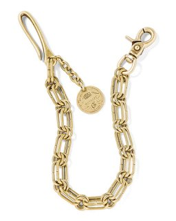 GRAVYSOURCE 「TOUGH WALLET CHAIN」 ウォレットチェーン ■A.GOLD