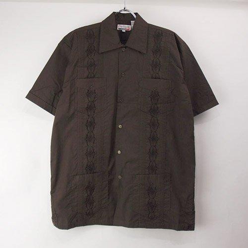 (DBR/M) Chic Elegant  キューバシャツ(新品)【メール便可】