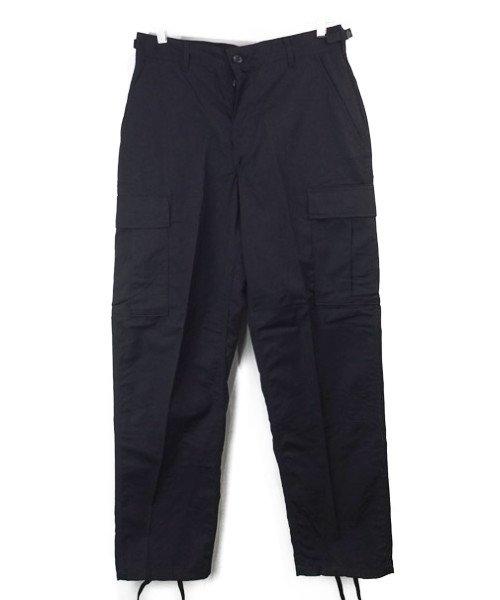 (SR) ブラック BDU パンツ 米軍 実物 デッドストック