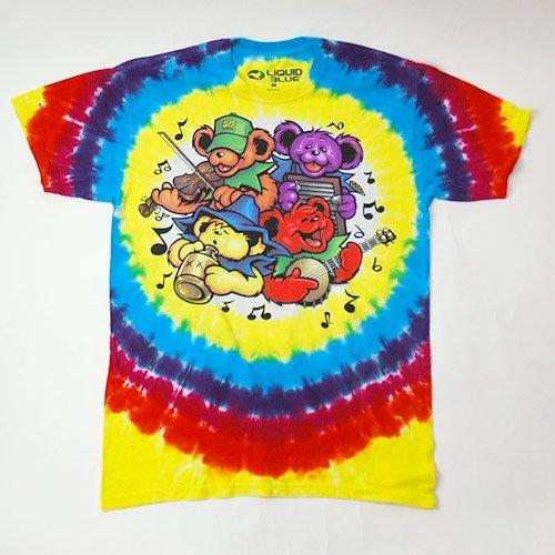 (M) グレイトフルデッド Bear Jamboree タイダイTシャツ(新品)【メール便可】