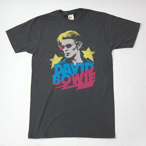 (M) デヴィッドボウイ Starman Tシャツ(新品)【メール便可】