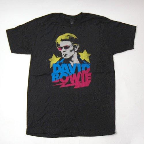 (L) デヴィッドボウイ Starman Tシャツ(新品)【メール便可】