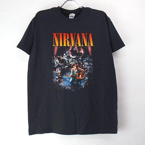 (L) ニルヴァーナ Unplugged Tシャツ(新品)【メール便可】