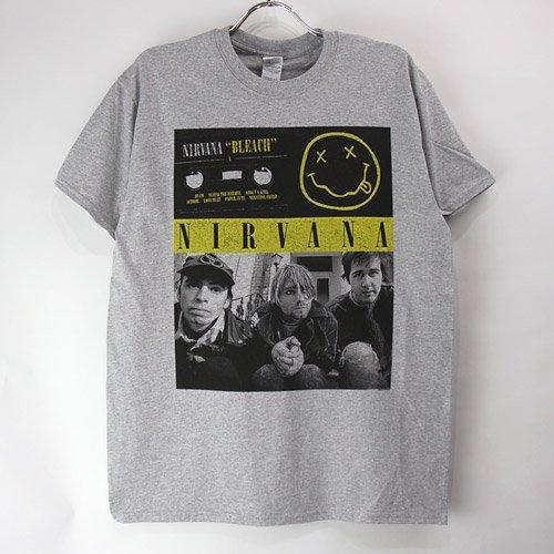 (L) ニルヴァーナ cassette Tシャツ(新品)【メール便可】