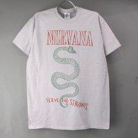 (M) ニルヴァーナ 蛇 Tシャツ(新品)【メール便可】