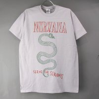 (L) ニルヴァーナ 蛇 Tシャツ(新品)【メール便可】