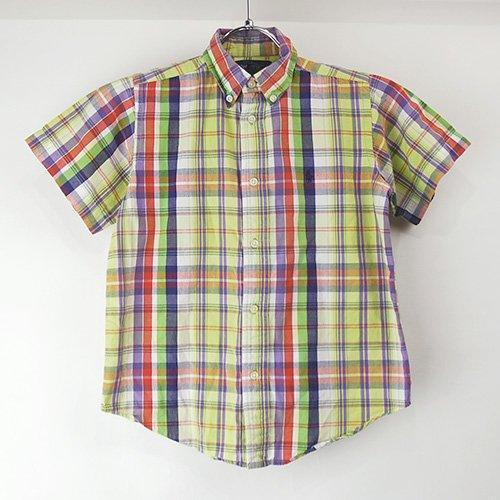 【キッズ6 】ラルフローレン キッズ 半袖ボタンダウンシャツ YGC 古着 【メール便のみ】