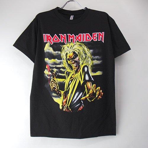 (M)アイアンメイデン KILLERS Tシャツ (新品)  【メール便可】