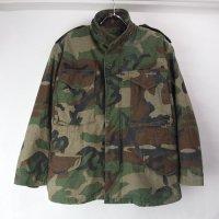 【Sエクストラショート 】 M-65 フィールドジャケット ウッドランドカモ  米軍実物 古着
