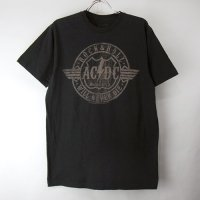 AC/DC NEVER DIE Tシャツ(古着)   【メール便可】