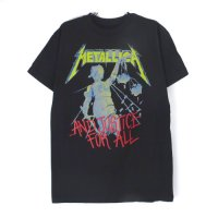 (L) メタリカ AND JUSTICE FOR ALL Tシャツ (新品)