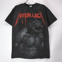 (M) メタリカ Jump in the Fire All Over Tシャツ (新品)