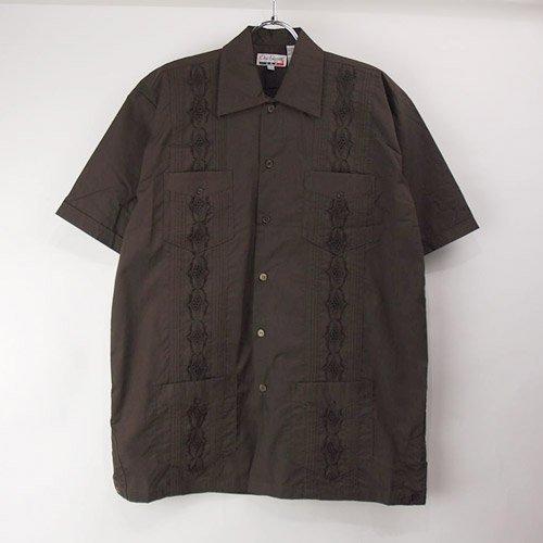<img class='new_mark_img1' src='https://img.shop-pro.jp/img/new/icons5.gif' style='border:none;display:inline;margin:0px;padding:0px;width:auto;' />(DBR/L) Chic Elegant  キューバシャツ(新品)【メール便可】
