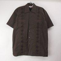 (DBR/L) Chic Elegant  キューバシャツ(新品)【メール便可】