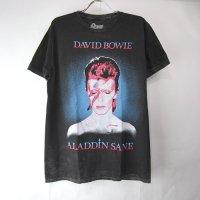 (M)デヴィッドボウイ アラジンセイン Tシャツ (新品)【メール便可】