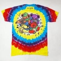 (L) グレイトフルデッド Bear Jamboree タイダイ Tシャツ(新品) 【メール便送料無料】