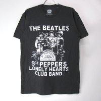 (M) ビートルズ  Sgt. Pepper Crackle Tシャツ (新品) 【メール便可】
