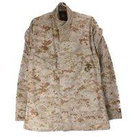 USMC デザート マーパット カモ ミリタリーシャツジャケット (SR) 古着