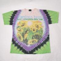グレイトフルデッド sunflower terrapinTシャツ(古着)   【メール便送料無料】