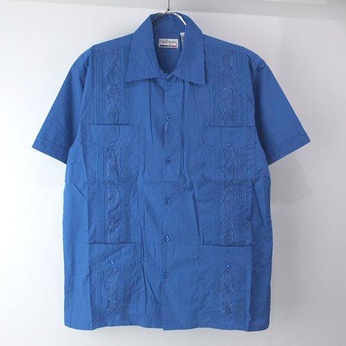 <img class='new_mark_img1' src='https://img.shop-pro.jp/img/new/icons5.gif' style='border:none;display:inline;margin:0px;padding:0px;width:auto;' />(RBL/M)  Chic Elegant  キューバシャツ(新品)【メール便可】