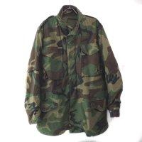 M-65 フィールドジャケット ウッドランドカモ ML 米軍実物 古着