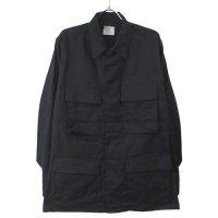 (SR) ブラック BDU シャツ ジャケット 米軍 実物 デッドストック