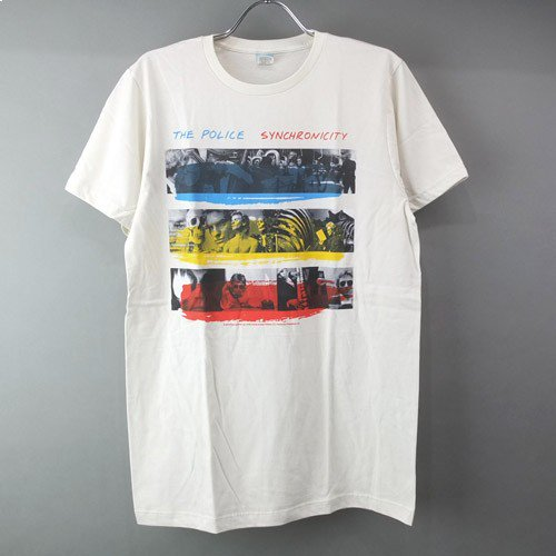 <img class='new_mark_img1' src='https://img.shop-pro.jp/img/new/icons5.gif' style='border:none;display:inline;margin:0px;padding:0px;width:auto;' />(M) ポリス Synchronicity Tシャツ (新品) 【メール便送料無料】