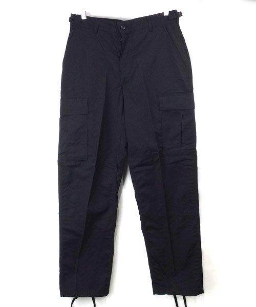(SXS) ブラック BDU パンツ 米軍 実物 デッドストック