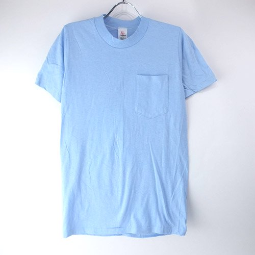 無地 ポケットT HI CRU STEDMAN   USA製  Tシャツ【メール便可】