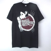 (L) ソーシャルディストーション EST. 1979  Tシャツ (新品) 【メール便送料無料】